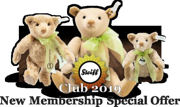 Steiff 2019 Club Special Offer
