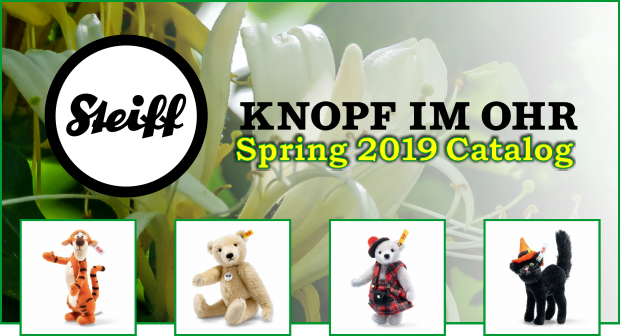 Steiff Spring 2019 Catalog at Bearly A Memory