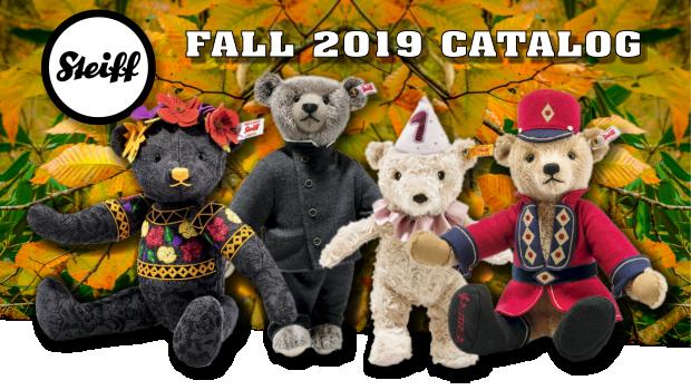 Steiff Fall 2019 Catalog at Bearly A Memory